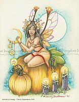 Autumn's Coming - Fairy Art Print