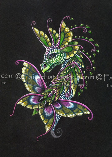 Garden Dragon - Limited Edition Art Print
