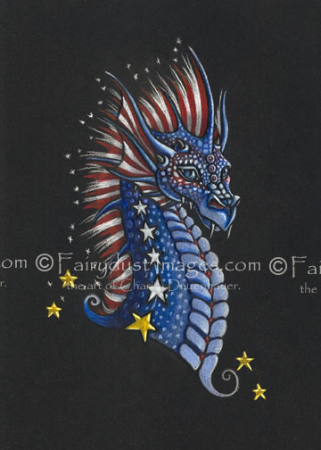 Veterans Dragon - Limited Edition Art Print
