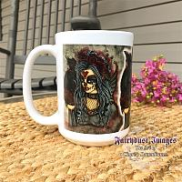 Wild Heart - Sugar Skull Fairy Coffee Mug
