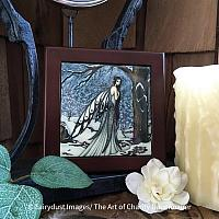 Winter Bliss - Wooden Frame Art Tile