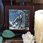 Winter Bliss - Wooden Frame Art Tile