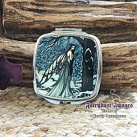 Winter Bliss - Snow Fairy Compact Mirror