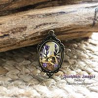 Woodland Fairy - Fantasy Art Pendant