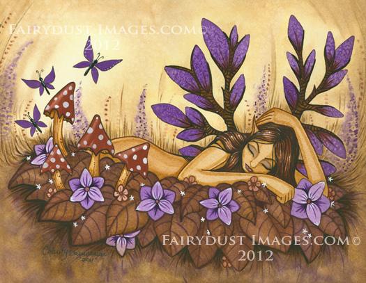 Woodland Fairy - Fantasy Art Print
