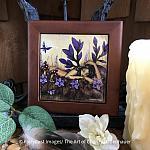Woodland Fairy - Wooden Frame Art Tile