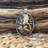 Woodland Fairy - Cameo Pendant Necklace