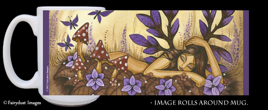Woodland Fairy - Fantasy Art Coffee Mug