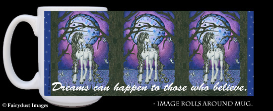 Unicorn Dreams - Fantasy Art Coffee Mug