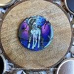 Unicorn Dreams - Magnet, Keychain, Pocket Mirror or Pins