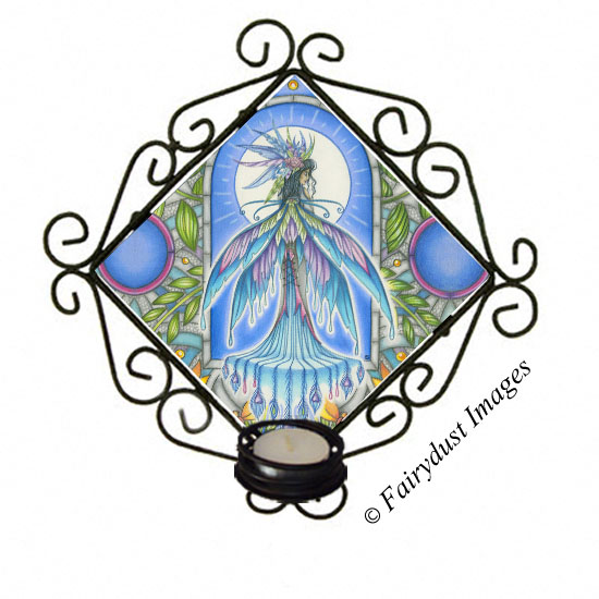 Tropical Dream - Fairy Candle Sconce