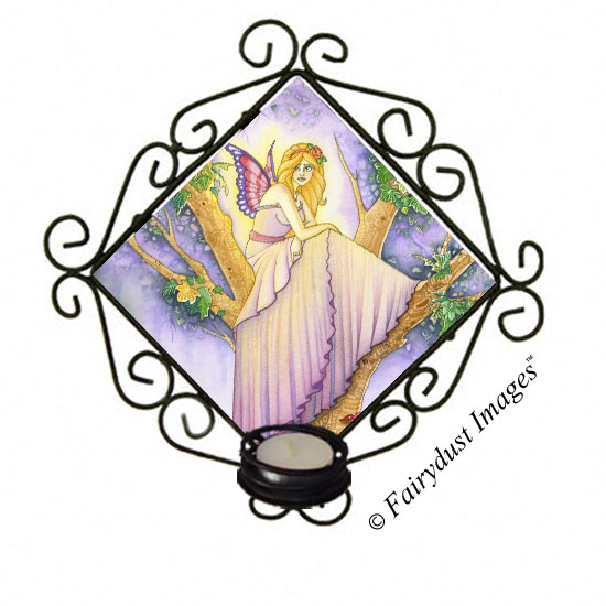 A Place to Hide - Fairy Candle Sconce