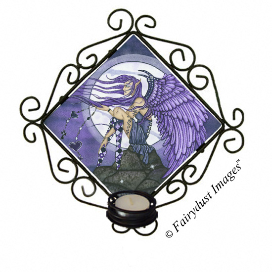 Angelica - Angel Candle Sconce