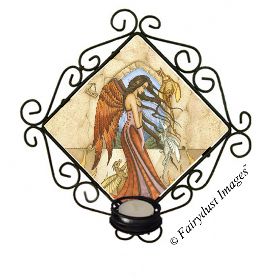 If Only They Were Dragons - Candle Sconce