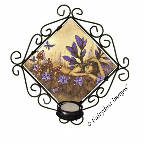 Woodland Fairy - Candle Sconce