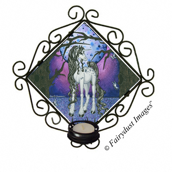 Unicorn Dreams - Candle Sconce