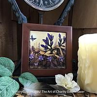 Woodland Fairy - Wooden Frame Art Tile